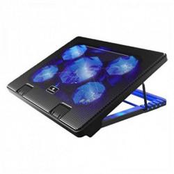 CoolBox COO-NCP17-5BL base di raffreddamento per notebook 43,2 cm (17) 2000 Giri/min Nero