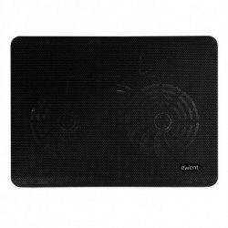Ewent EW1256 notebook cooling pad 43.2 cm (17) 1000 RPM Black
