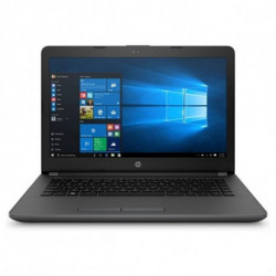HP 240 G6 Black Notebook 35.6 cm (14) 1366 x 768 pixels 7th gen Intel® Core™ i5 i5-7200U 8 GB DDR4-SDRAM 256 GB SSD 4QX38EA