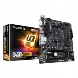 Gigabyte B450M DS3H placa mãe Ranhura AM4 Micro ATX AMD B450