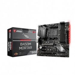 MSI B450M MORTAR placa mãe Ranhura AM4 Micro ATX AMD B450