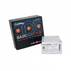 CoolBox BASIC500GR-S Netzteil 500 W SFX Weiß