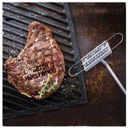 Marcador Metálico para Carne 145690 Marrón