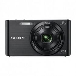 Sony DSC-W830 Fotocamera compatta 20,1 MP CCD 5152 x 3864 Pixel Nero DSCW830B.CE3
