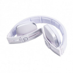 Hiditec Wave mobile headset Binaural Head-band White