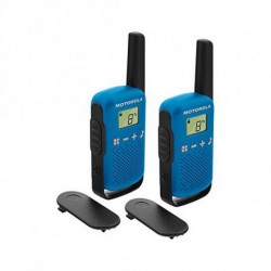 Motorola TALKABOUT T42 two-way radio 16 channels Black,Blue