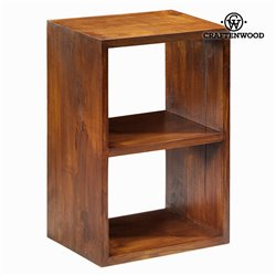 Shelves Mindi wood (64 x 42 x 29 cm) - Serious Line Collection by Craftenwood