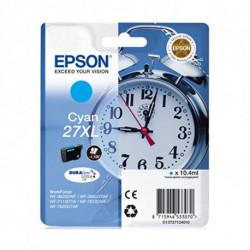 Epson Alarm clock Singlepack Cyan 27XL DURABrite Ultra Ink