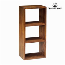 Libreria 3 moduli noce - Serious Line Collezione by Craftenwood