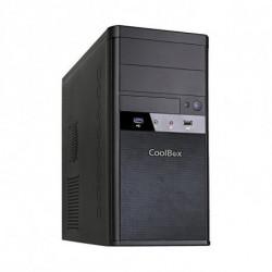 CoolBox Micro ATX M55 Tower Schwarz 500 W