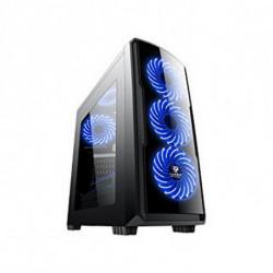 CoolBox COO-DGC9K7-LB-0 caixa para computador Torre Preto