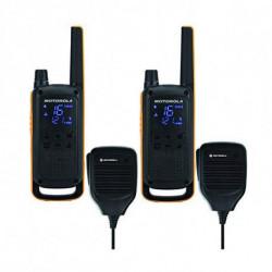 Motorola Walkie-Talkie T82 Extreme RSM (2 Pcs) Nero Giallo