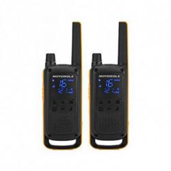 Motorola Walkie-Talkie T82 Extreme (2 Pcs) Nero Giallo