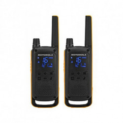 Motorola Walkie-Talkie T82 Extreme (2 Pcs) Schwarz Gelb