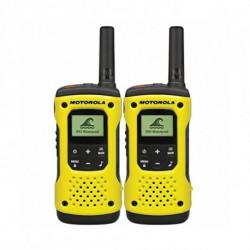 Motorola TLKR T92 H2O two-way radios 8 canales Negro, Amarillo