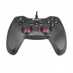 NGS Maverick Gamepad PC,Playstation 3 Nero, Rosso