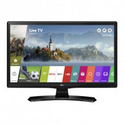 LG 24MT49S-PZ Fernseher 61 cm (24 Zoll) WXGA Smart-TV WLAN Schwarz