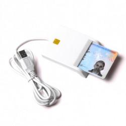 Lettore di Schede Chip 143566 Bianco