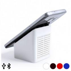 Altoparlante Bluetooth con Supporto per Cellulare 3W 145566 Bianco