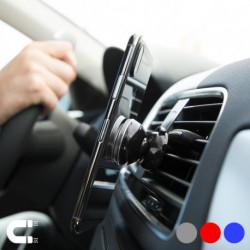 Supporto Magnetico da Auto per Cellulari 145954 Argentato