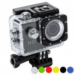Fotocamera Sportiva 2 LCD Full HD 145246 Giallo