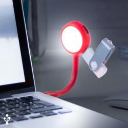 Candeeiro LED com Portas USB 144858 Preto