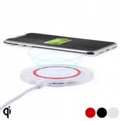 Cargador Inalámbrico para Smartphones Qi 145763 Rojo