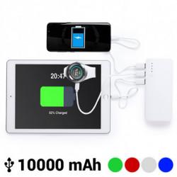 Power Bank con Triple USB 10000 mAh 145779 Verde
