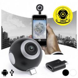 Cámara 360º para Smartphone HD 145771 Negro