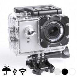 Fotocamera Sportiva 4K 2 360º WiFi (16 pcs) 145528 Bianco