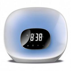 Daewoo Clock-Radio DCR-470 LED White