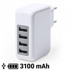 Cargador USB Pared 3100 mAh 145162 Blanco