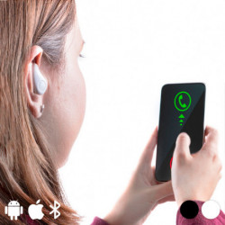 Kopfhörer im Ohr Bluetooth 145844 Weiß