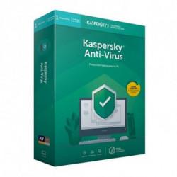Kaspersky Lab Anti-Virus 2018 Licença total 1 licença(s) 1 ano(s) Espanhol KL1171S5AFS-9