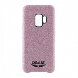 Chic & Love Case Samsung S9 CHCAR007 Glitter Pink