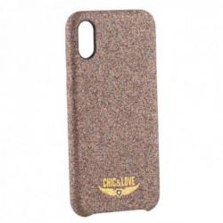 Chic & Love Case Iphone X-xs CHCAR005 Glitter Copper