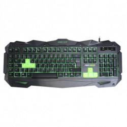 KEEP OUT Clavier pour jeu F80 Noir/vert