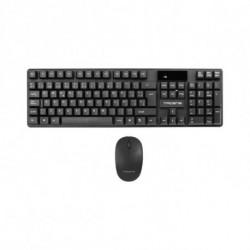Tacens ACPW0ES clavier RF sans fil QWERTY Espagnole Noir