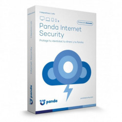Panda Internet Security 2017 Base license 5 license(s) 1 year(s) Spanish