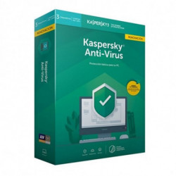 Kaspersky Lab KL1171S5CFR-9 Antivirus-Sicherheits-Software Vollversion 3 Lizenz(en) 1 Jahr(e) Spanisch