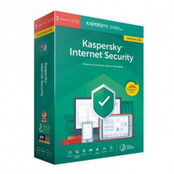 Kaspersky Lab Internet Security 2019 Licença total 3 licença(s) 1 ano(s) Espanhol KL1939S5CFR-9