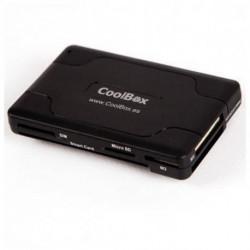 CoolBox Lector de Tarjetas Inteligentes CRE-065 USB 2.0 Negro