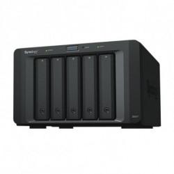 Synology Externe Festplatte Nas DX517 2,5-3,5 SATA 60 TB Schwarz