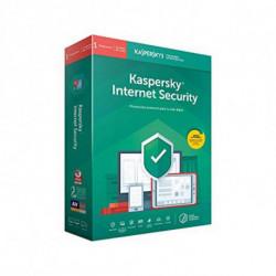 Kaspersky Lab Internet Security 2019 Licence complète 1 licence(s) 1 année(s) Espagnol