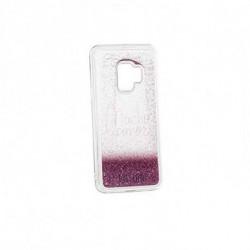 Dulceida Case Samsung S9 DLCAR007 Transparent Glitter Pink