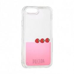Dulceida Case Iphone 6-7-8 Plus DLCAR023 Transparent Pink
