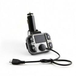 Omega Lecteur MP3 et émetteur FM pour voiture OUTF28 Gris