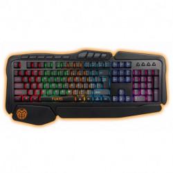 iggual Clavier pour jeu IGG315774 LED RGB Noir