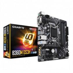 Gigabyte B360M DS3H placa mãe LGA 1151 (Ranhura H4) Micro ATX Intel B360 Express