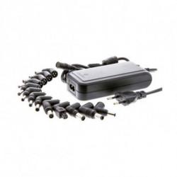 CoolBox FALCOONB90U adaptador e inversor de corriente Interior 90 W Negro